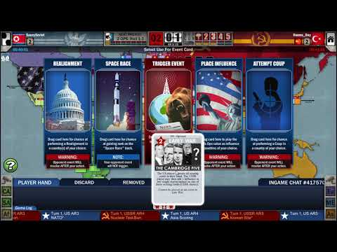 Twilight Struggle (Steam): New Year's Nuclear War vs Dooms_Day (US, US+1)