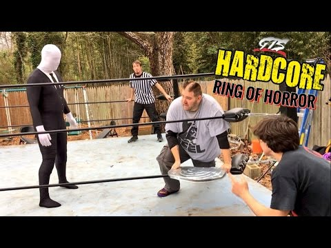 GRIM VS SLENDERMAN BRUTAL HARDCORE MATCH! TAG TITLE GTS SUPERCARD WRESTLING EVENT!
