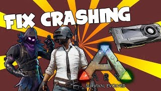 FIX CRASHING AND FREEZING! ON FORTNITE, PUBG, ARK, WOW, CSGO AND MORE!!