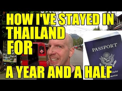 My Tourist VISA extensions for thailand V210