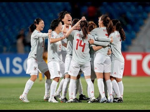 japan 1 0 australia afc women s asian cup 2018 final youtube