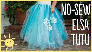 DIY How to Make a No-Sew Tutu (Easy Halloween Costume!!)