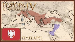 Europa Universalis 4 - Serbia, Lazarus achievement - Timelapse (Cradle of Civilization)
