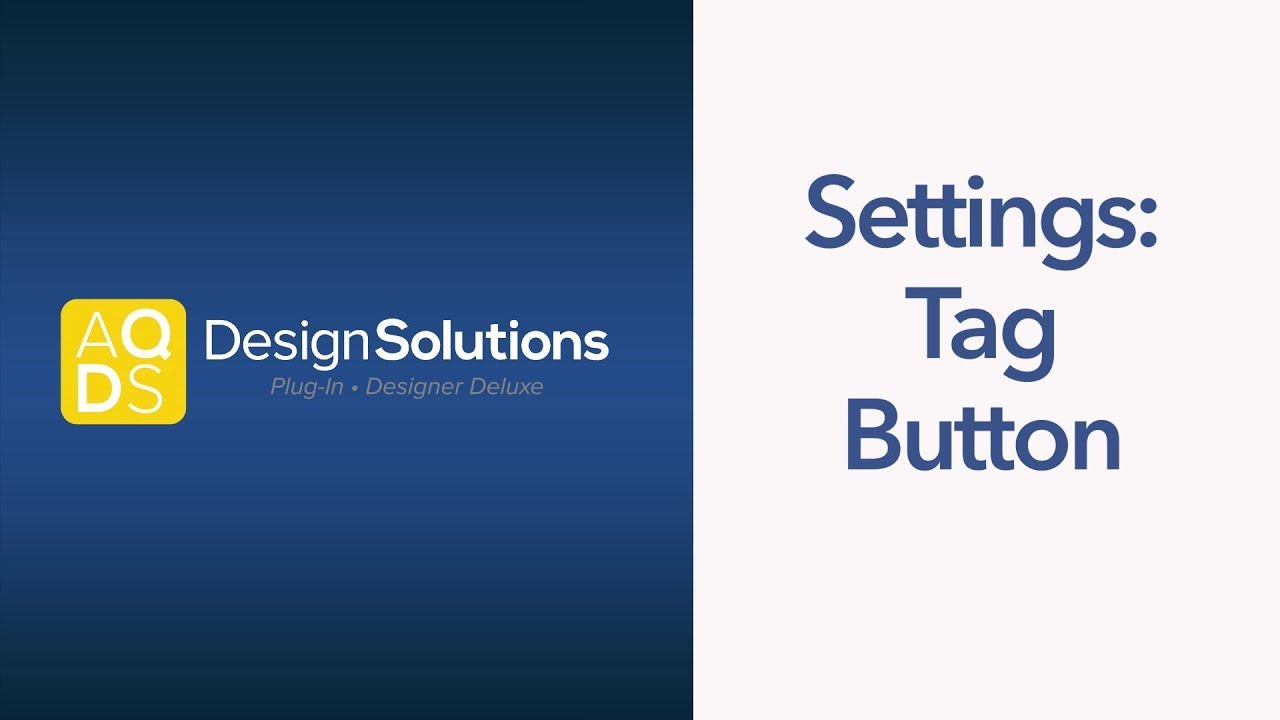 AQ Design Solutions – Tag Button