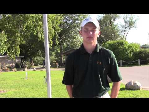 Ottumwa golfer Matthew Walker