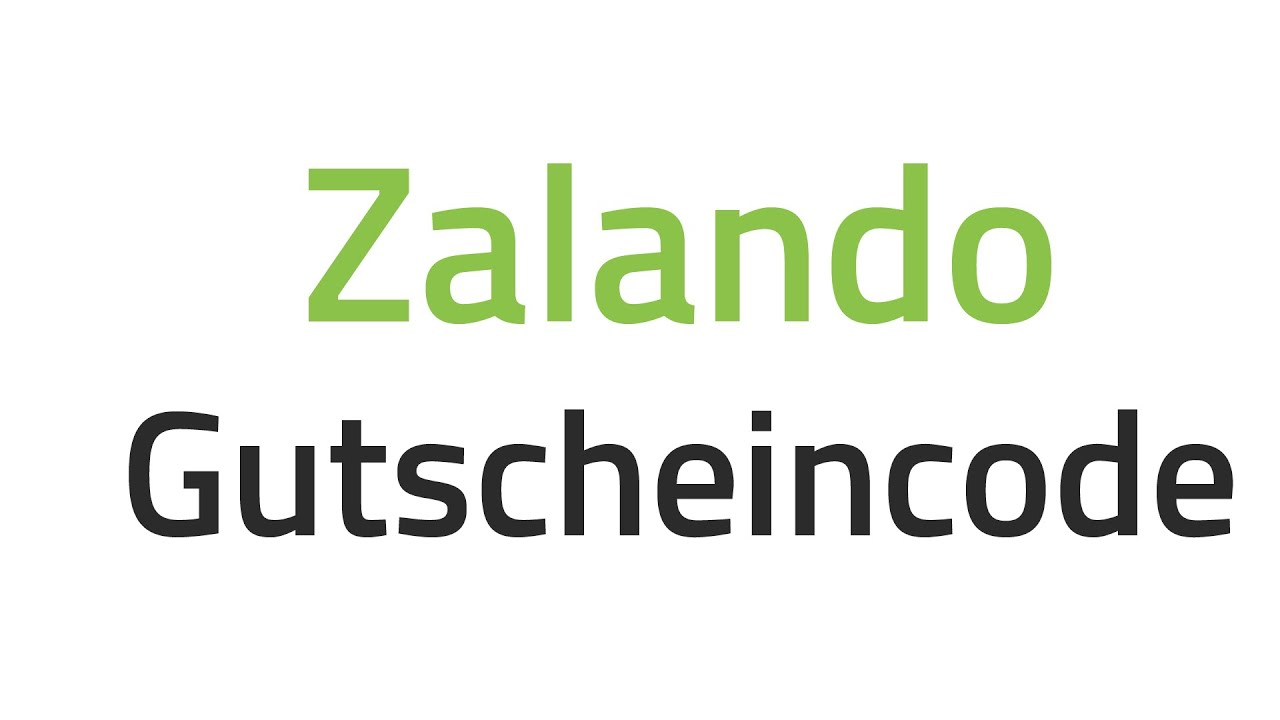 zalando gutscheincode rabattcodes f r zalando youtube. Black Bedroom Furniture Sets. Home Design Ideas