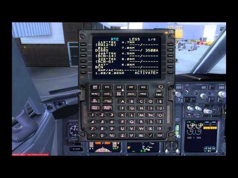 [HD] PMDG 737 NGX   Full FMC/CDU Tutorial