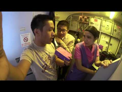 Thai Airways Flight Koh Samui to Bangkok Experience