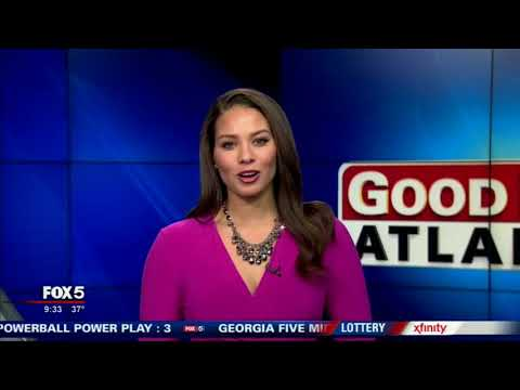 Fox 5's Good Day Atlanta Covers the Cathedral Antiques Show