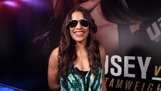 UFC 193: Julianna Pena Hints She Might Crash Cage