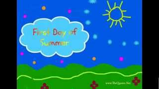 This video explains about summer solstice and shows the collection of google doodle shown for various years.the ((i-e longest...