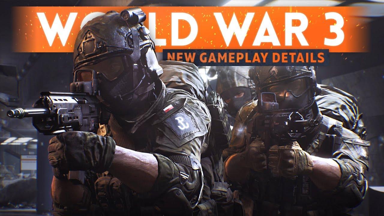 WORLD WAR 3: 7 NEW Gameplay Details You Should Know! (Friendly Fire, Destruction, Gun Play & MORE!)