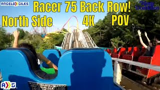 Racer 75 In 4K | Back Seat | North Side | Kings Dominion | 2018 |
