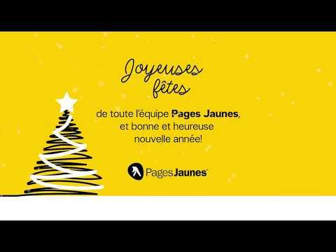 Pages Jaunes -  Carte des Fêtes 2017