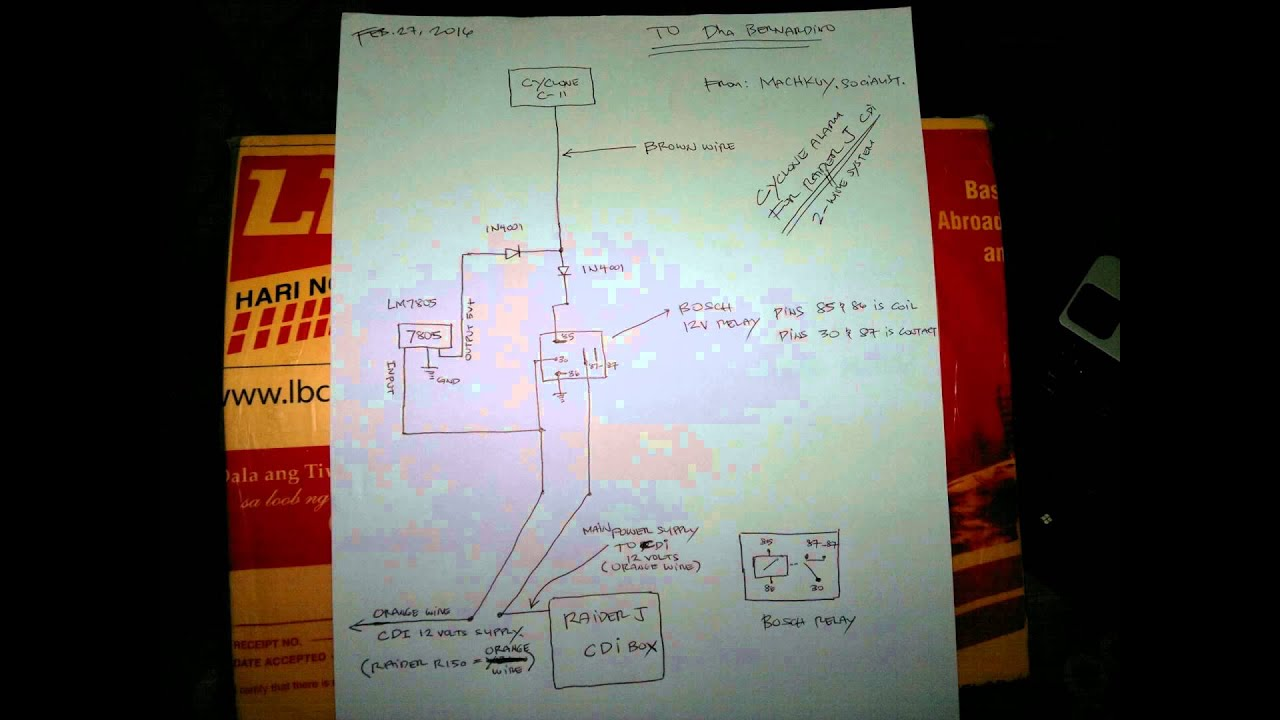 maxresdefault c 11 cyclone alarm for raider j cdi version (not fi) youtube cyclone motorcycle alarm wiring diagram at n-0.co
