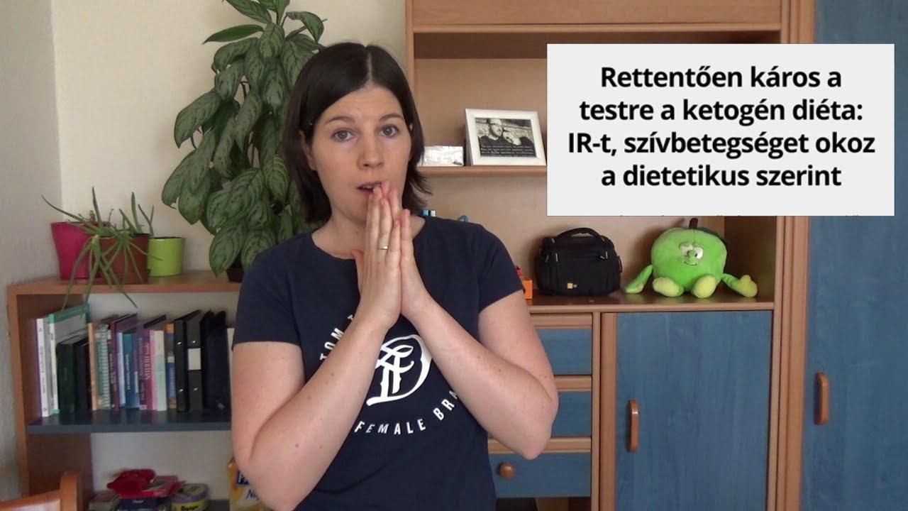 Rettentően káros a ketogén diéta? - YouTube