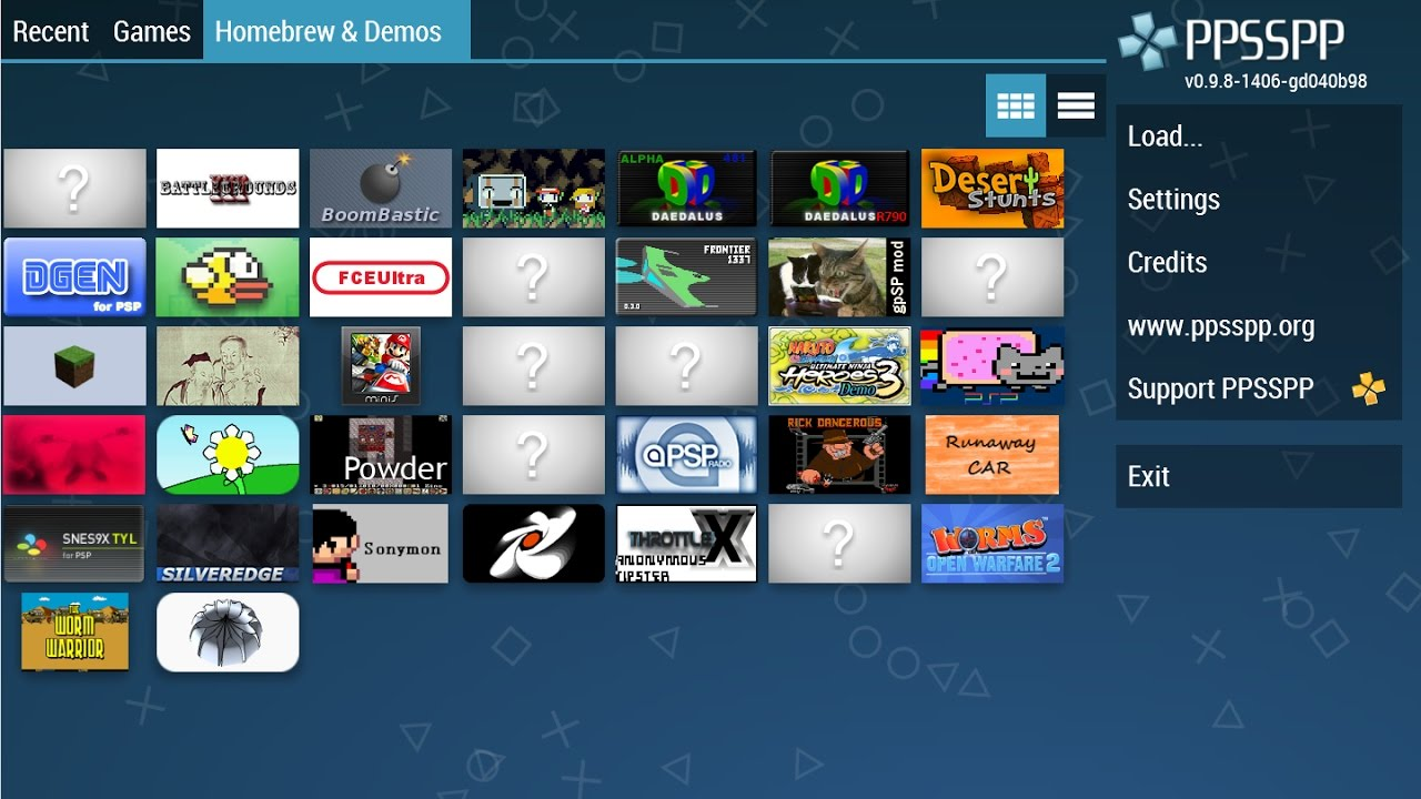 List of ppsspp supported psp games free to download.