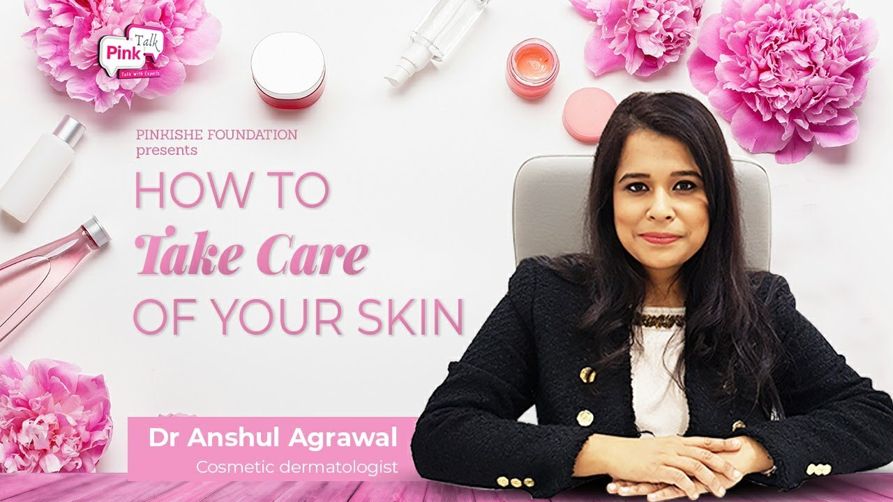 Dermatologist - Dr. Anshul Aggarwal dermatologist : how to choose skin care cosmetic : Pink Talk