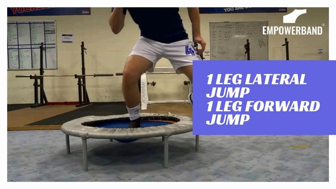 Ankle Strengthening & Rehabilitation Exercise For Football Players ; Trampette
