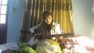 Cô gái đến từ hôm qua guitar - ( cover by Hương siu)