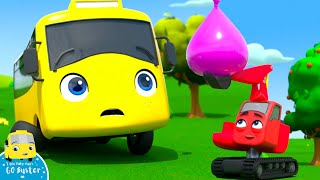 WOW! Buster Has A WATER BALLOON FIGHT! | Go Buster! | Bus Cartoons for Kids! | Funny Videos & Songs