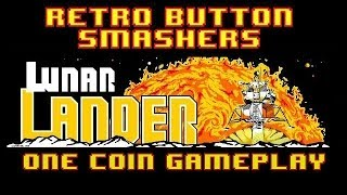 RBS Lunar Lander ( One Coin Gameplay ) Arcade