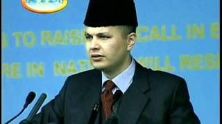 Practise of Islamic teachings in the modern times, Speech at Islam Ahmadiyya Jalsa