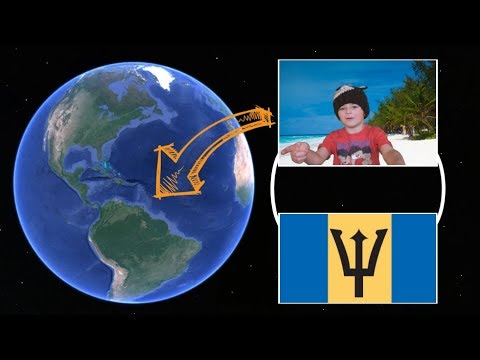 Where In The World Is Barbados? Kiducation UK