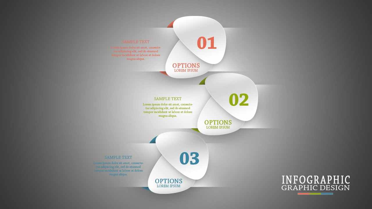 Photoshop Tutorial Infographic Clean And Minimalist ...