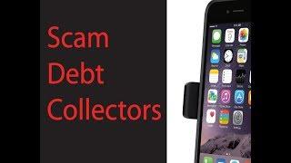 Scam debt collector