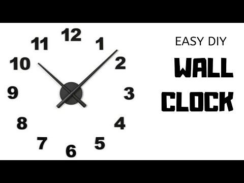 easy-diy-wall-clock-//diy-with-jolynn-//