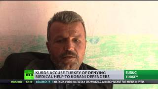 Injured Kurds smuggle themselves from Syria to Turkey for medical help