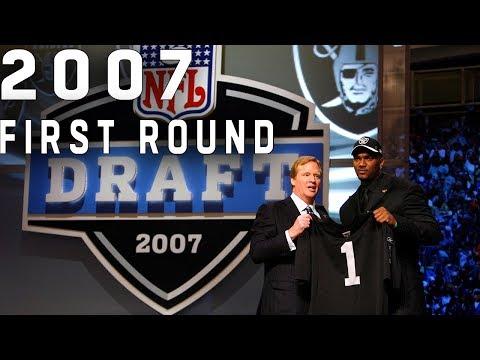 Brady Falling, Cowboys' Big Trades, & More! |  2007 NFL Draft 1st Round