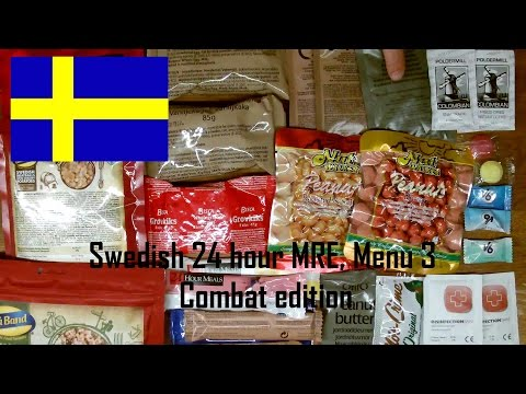 Thor-is-testing: Swedish 24 hour Ration