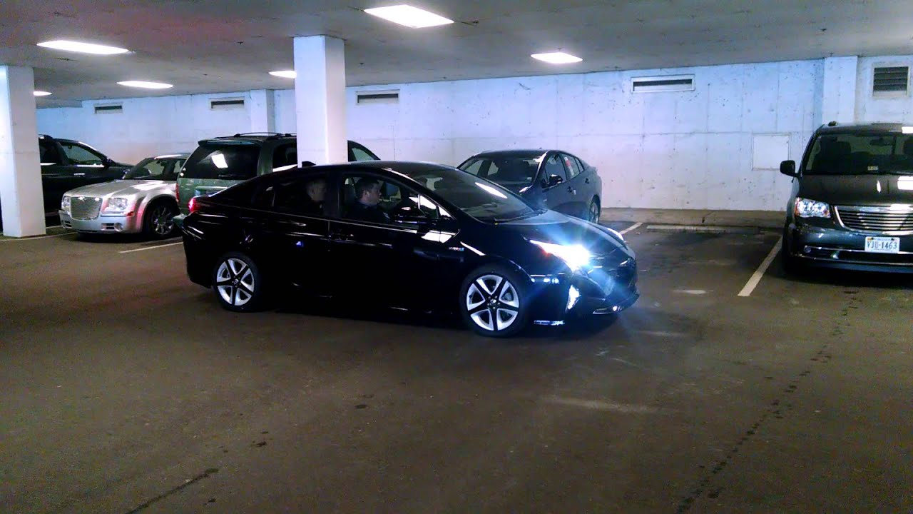 Hickory Toyota 2016 Prius Self Parking Demonstration Video