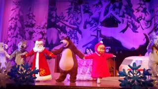Новогоднее представление для детей Маша И Медведь часть 7