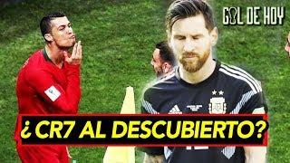 Se destapa ¿Cristiano le dedicó el gol a Messi? | Messi: