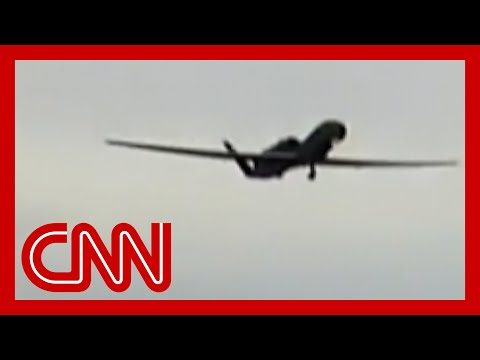 Video shows Iran shooting down US drone