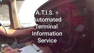 ATIS - Automatic Terminal Information Service And Garmin GTN 650