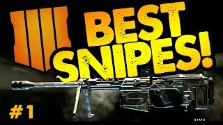 BEST SNIPER SHOTS // COD Black Ops 4 // Week One of Call of Duty Blackout Gameplay