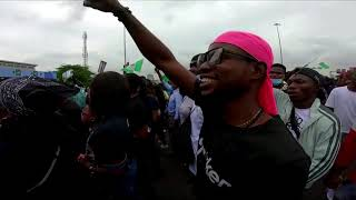Nigerian soldiers fire at protesters, witnesses tell Reuters