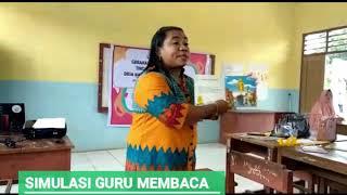 Gerakan Literasi Sekolah - Simulasi Guru Membaca (Yuk! Latih Cara Membacakan Buku Ke anak-anak)