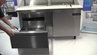 How to convert door to drawer(s) - Sandwich or Undercounter Units.