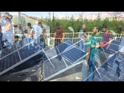 RES 2 - Ege University -  Photovoltaic Pilot Course - IZMIR