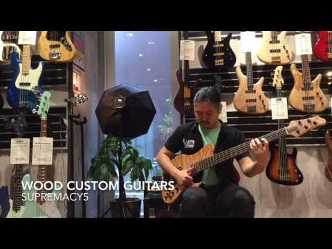 Wood Custom Guitars Supremacy5
