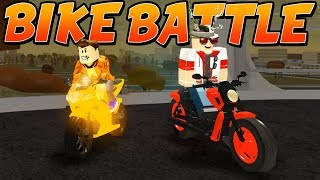 HARLEY DAVIDSON vs SUZUKI GSX in VEHICLE SIMULATOR (Roblox)