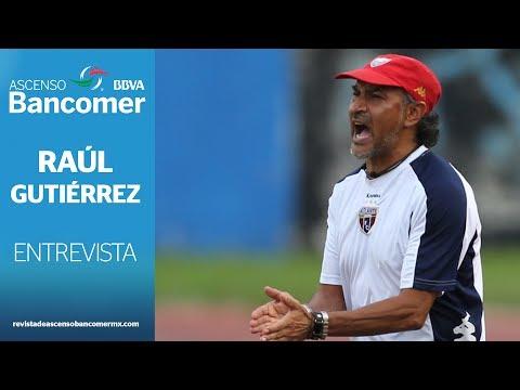 Entrevista a Raúl Gutiérrez, DT del Club Atlante.
