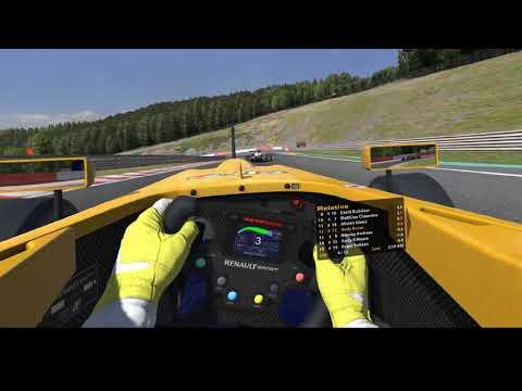 iRacing Formula Renault Spa
