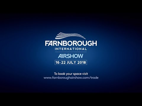 Farnborough International Airshow 2018. The future starts here
