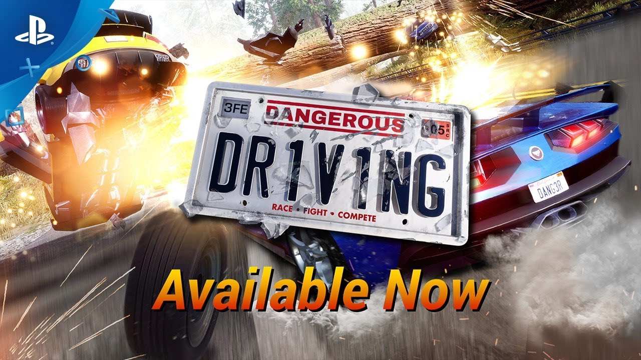 Dangerous Driving - Launch Trailer | PS4